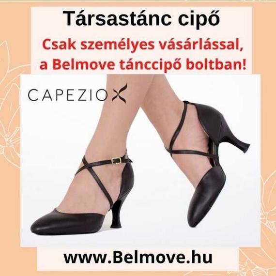 TC17 Capezio Társastánc cipő orra zárt fazon